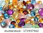 beautiful gems background.... | Shutterstock . vector #171937562