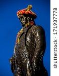 The Statue Of Robert Burns...
