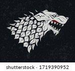 may 01  2020  heraldic symbol... | Shutterstock .eps vector #1719390952