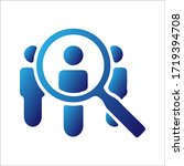 search for people icon isolated.   Shutterstock .eps vector #1719394708
