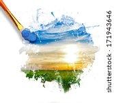 Paintbrush Painting Beautiful...
