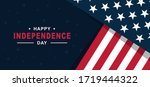 happy independence day of... | Shutterstock .eps vector #1719444322