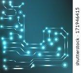 circuit board background. bitmap | Shutterstock . vector #171946415