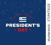 united states presidential...   Shutterstock .eps vector #1719473125