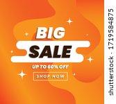 vector illustration of a sale... | Shutterstock .eps vector #1719584875