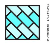 floor coverings  ceramics icon... | Shutterstock .eps vector #1719591988