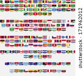 flags of the world  all... | Shutterstock . vector #171962012