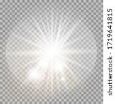 light flare special effect with ... | Shutterstock .eps vector #1719641815