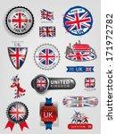 united kingdom flag  england... | Shutterstock .eps vector #171972782