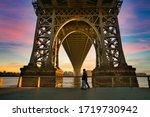 Williamsburg Bridge  New York....
