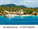 View Of The Caribbean Island Of ...