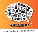 social network and vector