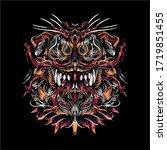 dog crushing squad artwork...   Shutterstock .eps vector #1719851455