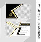 business  name card abstract... | Shutterstock .eps vector #1719884062