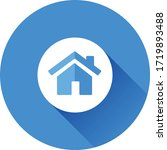 home   house rounded vector icon