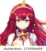 Very Gorgeous Anime Girl...