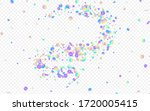rainbow confetti happy... | Shutterstock .eps vector #1720005415