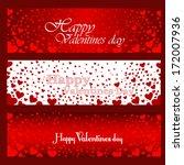 happy valentines day | Shutterstock . vector #172007936