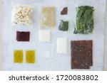 set of products for dinner ... | Shutterstock . vector #1720083802