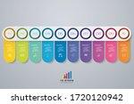 10 steps simple editable... | Shutterstock .eps vector #1720120942
