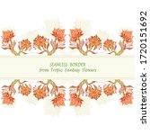 template from abstract dancing... | Shutterstock .eps vector #1720151692
