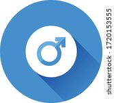 male gender button vector icon   Shutterstock .eps vector #1720153555