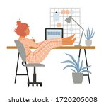the problem of self...   Shutterstock .eps vector #1720205008
