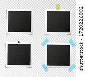 set of template photo frames... | Shutterstock .eps vector #1720226002