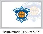 basketball logo and icon vector ... | Shutterstock .eps vector #1720255615
