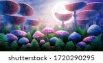 fantastic wonderland landscape... | Shutterstock . vector #1720290295