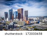 los angeles  california  usa... | Shutterstock . vector #172033658
