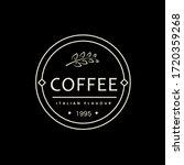 coffee logo  icon   symbol.... | Shutterstock .eps vector #1720359268