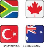1 st country is south africa. 2 ... | Shutterstock .eps vector #1720378282