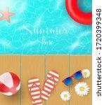Summer Vector Banner Design...