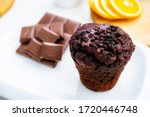 Photo Of Chocolate Muffin In...
