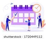vector illustration. little... | Shutterstock .eps vector #1720449112
