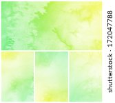 watercolor abstract painting... | Shutterstock . vector #172047788