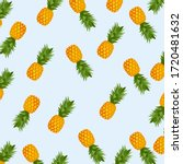 pineapple. illustration of...   Shutterstock .eps vector #1720481632