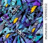abstract seamless grunge... | Shutterstock .eps vector #1720502212