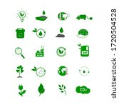 collection of eco icons.... | Shutterstock .eps vector #1720504528