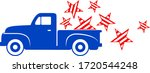 America Retro Pickup Truck...