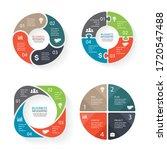 business infographic vector... | Shutterstock .eps vector #1720547488