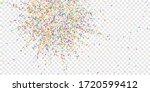 festive confetti. celebration...   Shutterstock .eps vector #1720599412