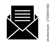 email icon. envelope or message ...