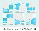 medical healthcare square... | Shutterstock .eps vector #1720667158