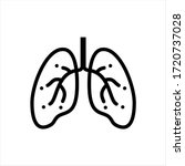 lung icon  human primary organ...   Shutterstock .eps vector #1720737028