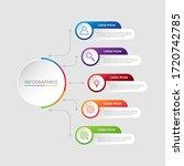 business data visualization ... | Shutterstock .eps vector #1720742785