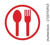 this is the takeout icon   Shutterstock .eps vector #1720753915