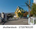 valparaiso  chile february 26 ... | Shutterstock . vector #1720783135