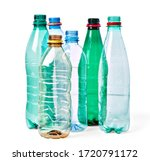 Close up of a  plastic bottle...